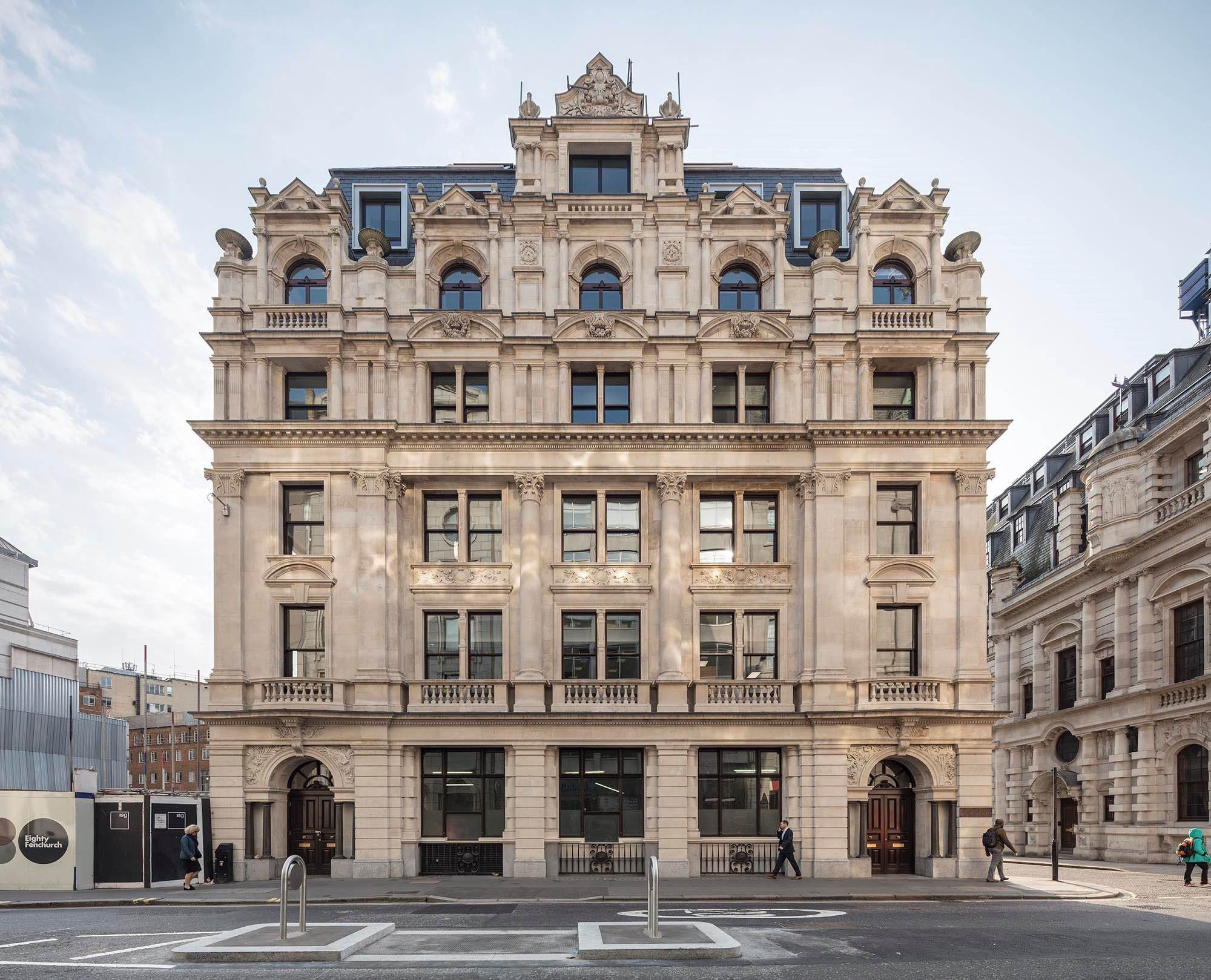 Fletcher Priest pic of Dixon House (Fenchurch Street) after the 2018 rebuild.